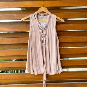 NWT Free People sleeveless blouse